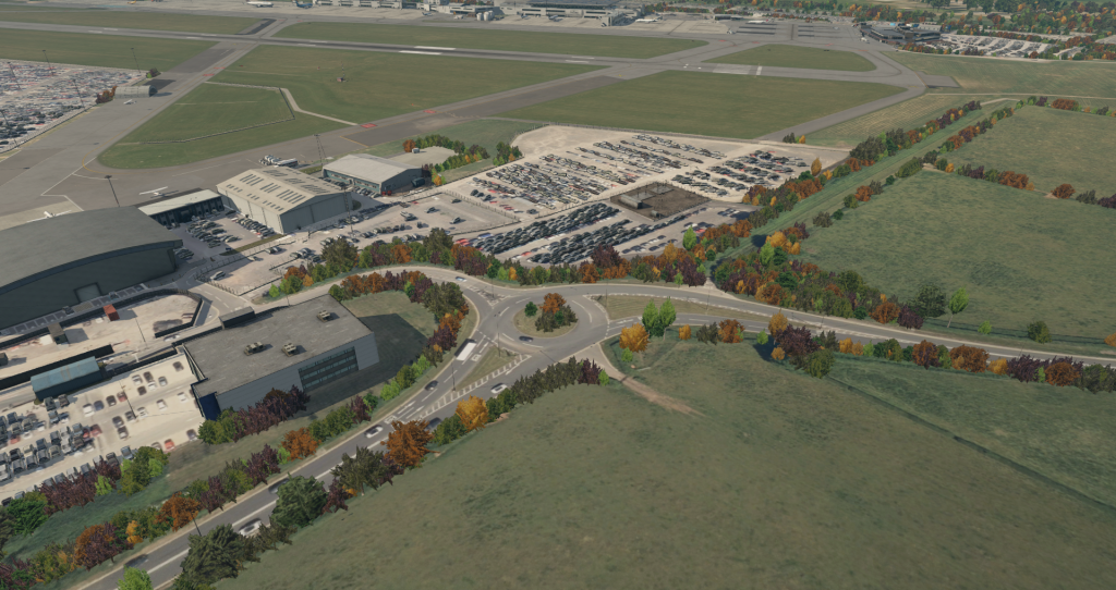 Bristol Airport Adaptive Vegetation